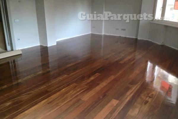 Mantenimiento una vez lijado y barnizado el suelo de madera